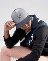 Huf Snapback Cap With Script Logo