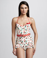 Juicy Couture Polka-Dot One-Piece Swimdress