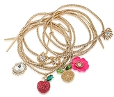 ABS by Allen Schwartz Stretch Charm Bracelets, Set of 9 - 100% Exclusive