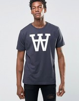 Wood Wood Large Aa Logo T-shirt Exclusive