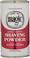 Magic Red Shaving Powder 133 ml Extra Strength Depilatory by