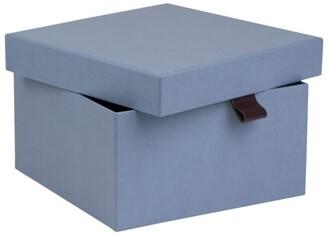 Bigso Box Of Sweden Oui X Bigso Bonnie Large Rectangular Storage Box Dusty Blue