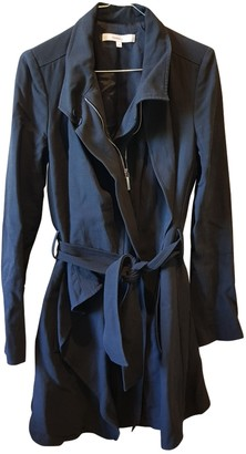 Vanessa Bruno Black Wool Trench Coat for Women