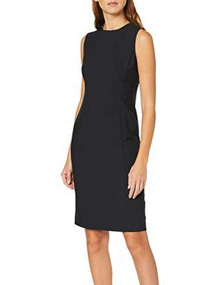 Dorothy Perkins Women's Round Neck Sleeveless Dress,6 (Size:6)