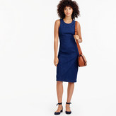 J.Crew Denim sheath dress