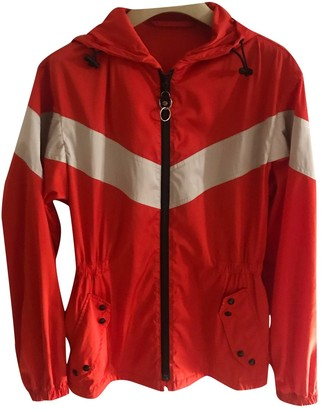 Louis Vuitton Red Polyester Jackets