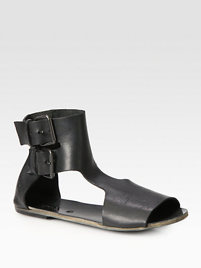 Marsèll Leather Ankle Strap Sandals