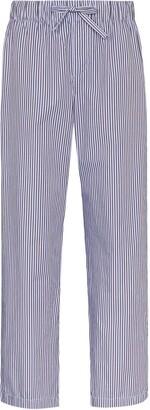 Tekla Striped Drawstring Pyjama Trousers