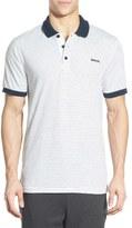 Bench 'Parter' Stripe Jersey Polo