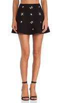 J.o.a. Embellished Skirt