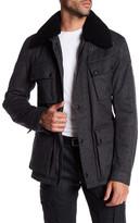 Belstaff Circuitmaster Genuine Shearling Collar Jacket
