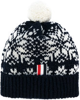 Thom Browne fair isle hat