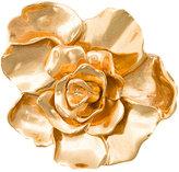 Oscar de la Renta small rosette brooch