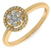 Nordstrom Bony Levy Flower Diamond Stackable Ring Exclusive)