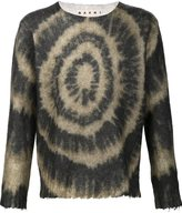 Marni tie dye sweater - men - Mohair/Wool/Polyimide - 50