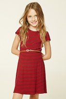Forever 21 FOREVER 21+ Girls Striped Mini Dress (Kids)