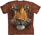 The Mountain Brown Tiger Face Tee - Toddler & Kids