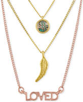 Rachel Roy Two-Tone 3-Pc. Set Pendant Necklaces