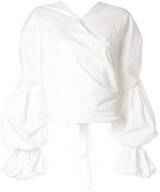 Acler Melross gathered shirt