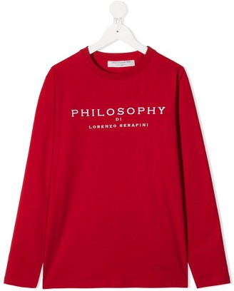 Philosophy Di Lorenzo Serafini Kids TEEN long-sleeve sweatshirt