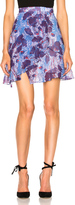 Carven Floral Mini Skirt