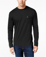 Tommy Bahama Men's Big & Tall Pima Long-Sleeve T-Shirt