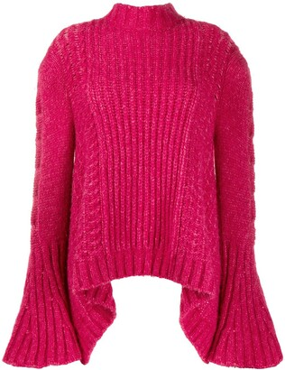 Stella McCartney bell sleeved jumper