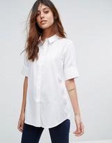 Selected Venilla Short Sleeve Shirt