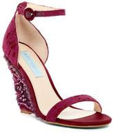 Betsey Johnson Alisa Embellished Wedge Sandal