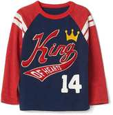 Gap Heart graphic baseball tee