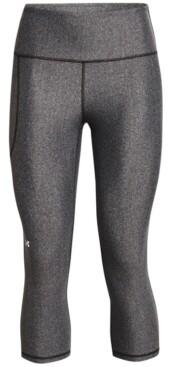 Under Armour Plus Size Women's HeatGear Armour Hi-Rise Capri Pants