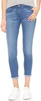 3x1 W2 Crop Fray Skinny Jeans