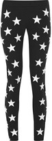 Gareth Pugh Embroidered Stretch-ponte Skinny Pants - Black