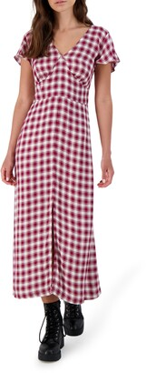 BB Dakota Gingham of Haven Maxi Dress