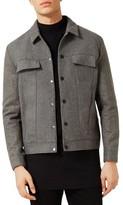 Topman Men's Wool Blend Work Jacket
