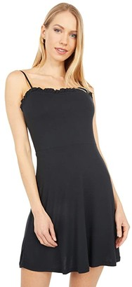 Volcom Shred Some Rug Dress (Black) Women's Clothing