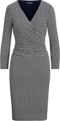Ralph Lauren Geo-Print Jersey Dress