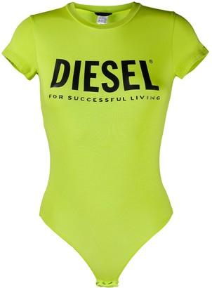 Diesel UFBY-Bodytee logo-print bodysuit
