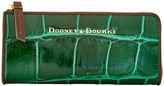 Dooney & Bourke City Croco Zip Clutch