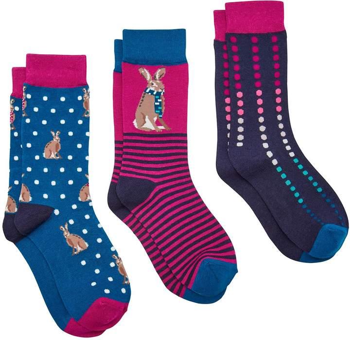 Joules 3 Pack Sock Set