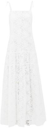 Merlette New York Ordesa Broderie-anglaise Cotton Maxi Dress - Womens - White