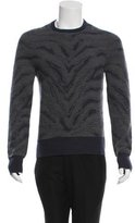 Michael Bastian Wool Intarsia Sweater