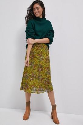 Maeve Cathryn Sequined Midi Skirt