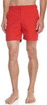 Orelebar Brown Bulldog Mid-Length Swim Trunks, Red