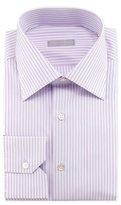 Stefano Ricci Wide-Pinstripe Dress Shirt, Purple
