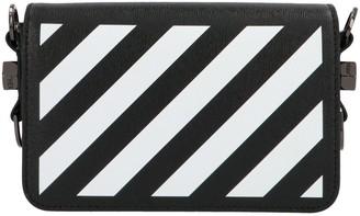 Off-White Diag Flap Mini Crossbody Bag