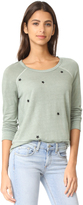 Sundry Star Patches Sweatshirt