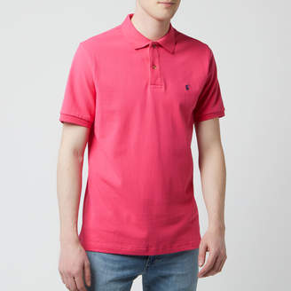 Joules Men's Woody Polo Shirt - Bright Pink - M - Pink
