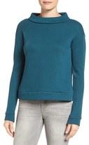 Halogen Rib Knit Mock Neck Top (Regular & Petite)