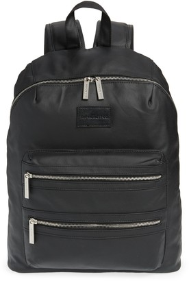 Honest Baby City Coated Canvas Diaper Backpack